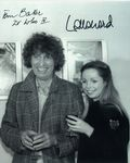 Tom Baker, Lalla Ward -  Multi signed DOCTOR WHO Genuine Signed Autographs 10 x 8 COA 10277